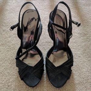 Audrey Brooke Ankle-Strap Heels